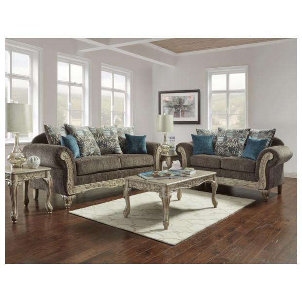 Fitzgerald Furniture CARSON GRAY S/L
