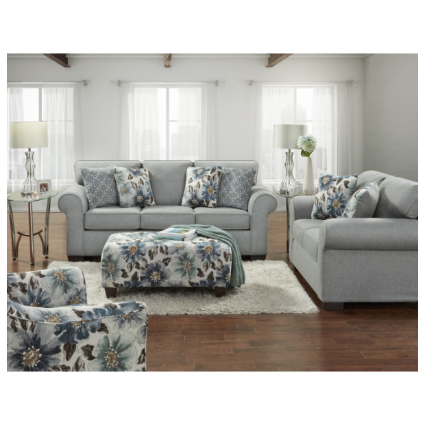 Fitzgerald Furniture DRYDEN STEEL S/L