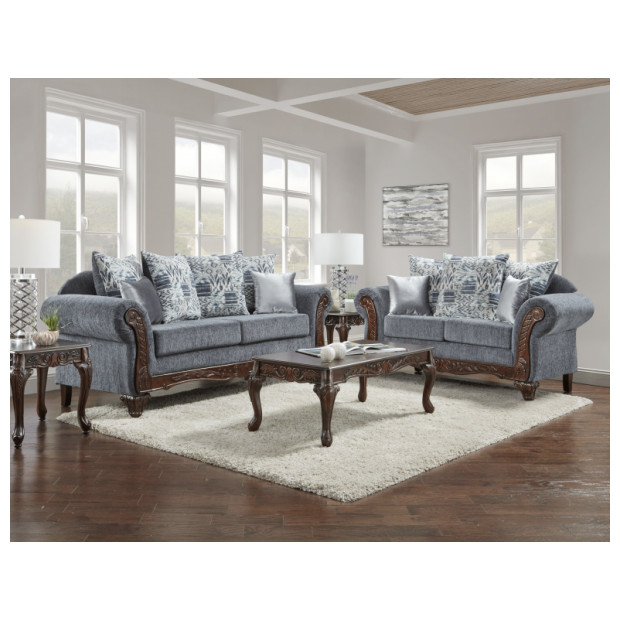 Fitzgerald Furniture BOHEMIAN BLUE S/L