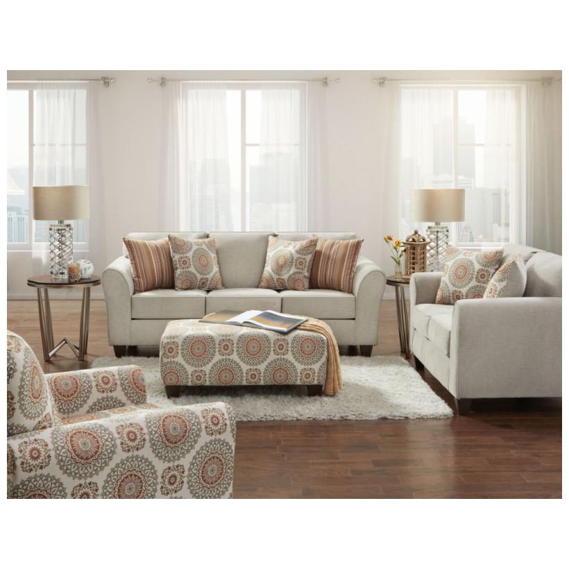 Fitzgerald Furniture BENNINGTON TAUPE S/L