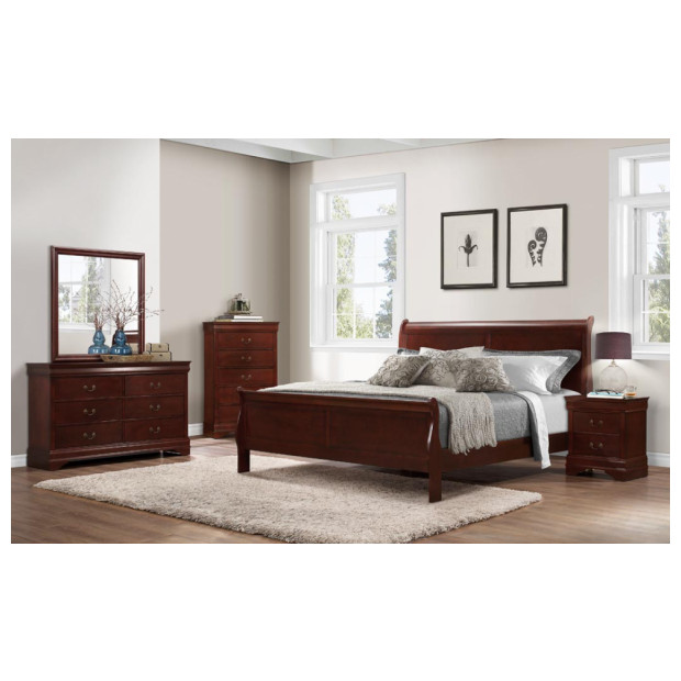 Bernard's Furniture   1230QBDMN CH 4PC
